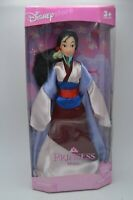 "NIB Disney Store Princess Mulan Barbie Doll 11"""