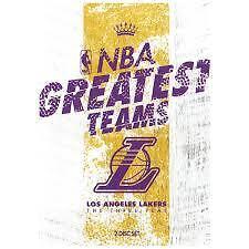 NBA Greatest Teams Los Angeles Lakers The Three Peat Region 4 DVD