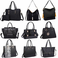 Black Zipper Satchel Bags & Handbags for Women
