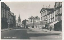 Postcard - High Street Oxford Oxfordshire posted 1953