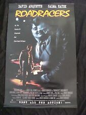 ROADRACERS movie poster SALMA HAYEK ROBERT RODRIGUEZ DAVID ARQUETTE original vid