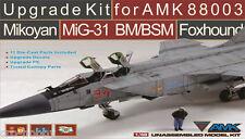 "AMK MIKOYAN MIG-31 BM/BSM FOXHOUND UPGRADE KIT ""LIMITED EDITION"", #88003-U, NEW!"