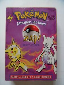 Deck Pokemon ancien 2000 : ZAP ! - base set theme zap! - RARE