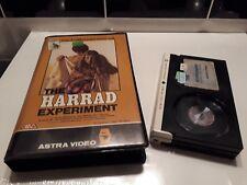 THE HARRAD EXPERIMENT / PRE CERT / ASTRA VIDEO / BETA / DON JOHNSON