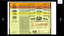 New listing Five Notes Internal Revenue Tax Stamp Total Of 5 Notes Retail Liquor Dealer