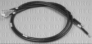 BORG & BECK HANDBRAKE CABLE FOR ANNO OPEL ZAFIRA / ZAFIRA FAMILY MPV 1.6 69KW