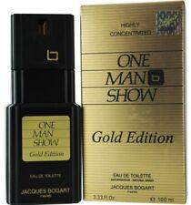 Jacques Bogart One Man Show Eau De Toilette Spray for Men 3.33 oz (Pack of 4)