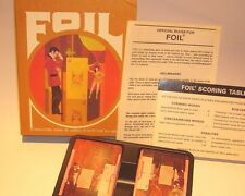 Foil Gamette 3M Company Card Word Game 1970