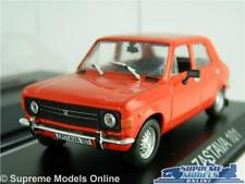 YUGO ZASTAVA 101 MODEL CAR 1:43 SCALE RED + DISPLAY CASE IXO IST FIAT 128 K8