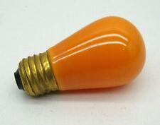 GE Incandescent 10-Watt S14 ORANGE Lamp Light Bulb 110-125V 10W