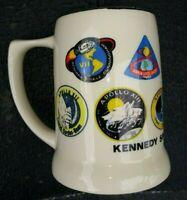Vintage Kennedy Space Center Florida Apollo Mission Badges Coffee Mug