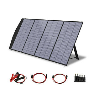 ALLPOWERS Portable Solar Panel Charger 200W Foldable Solar Panel for Camping RV