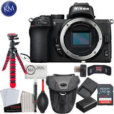 Nikon Z 50 Mirrorless Digital Camera (Body Only) and Essential Bundle: