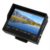 """Portable 4.3"""" TFT LCD Audio Video Security Tester CCTV Camera Test Monitor Black"""
