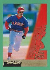1996 Topps Laser Will Clark Texas Rangers #40 (KCR)