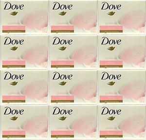 Dove Soap Pink Rose 12 Pack 135g/4.75oz