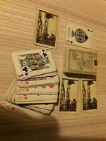 Vintage Waddington's  Playing Cards  Royal Deeside. London &  north eastern rail