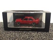 Brabus 3.6S 1988 (190E W201) Red (No. 182) 1:43 Minichamps
