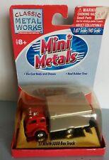 CLASSIC METAL WORKS 1/87 - 53 WHITE 3000 BOX TRUCK  - HO