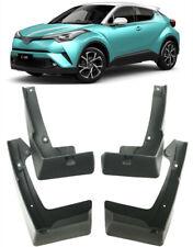 4pcs//Set Black Mud Flaps Mudguard Dirt Fender Cover For Toyota C-HR CHR 2018-19