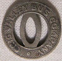 Ohio Valley Bus Company Huntington West Virginia Transit Token whotoldya Lot 929