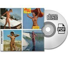 Sammlung 4x FREIES LEBEN FKK Nudist Natur Akt Magazin 50/116/172/S75 - eBook PDF