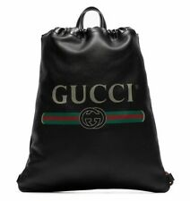 GUCCI RUCKSACK TASCHE DRAWSTRING LOGO BACKPACK BAG MADE IN ITALY 5166390GCBT