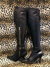 Vivienne Westwood ICONIC/COLLECTABLES,Over Knee Leather Boots,Box,100%auth.