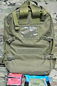 BLACKHAWK OD STOMP 2 MEDICAL BACKPACK MOLLE PACK BAG FIRST AID SUPPLIES INCLUDED