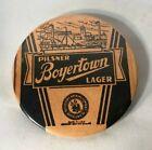 VINTAGE Boyertown Pilsner Lager Beer Advertising Pin Back Button