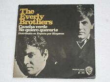 """THE EVERLY BROTHERS BOWLING GREEN RARE SPANISH ORIGINAL ISSUE EP 7"""""""