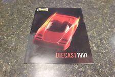 REVELL DIECAST 1991 PININFARINA FERRARI MYTHOS MAGAZINE ([BOX O] DDD #804)