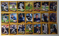 2002 Topps Series 1 & 2 Milwaukee Brewers Team Set of 21 Baseball Cards No #505
