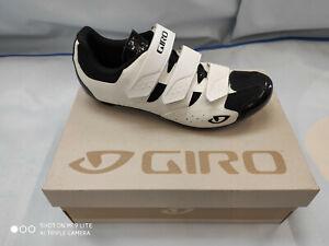 Giro Techne Mens Road Shoe White/Black EU 42 UK 8