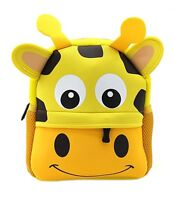 Manleno Unisex Baby/Little Kids Cute 3D Animal Backpack Preschool, Giraffe