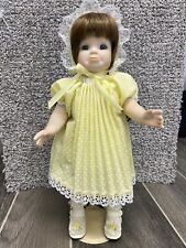 """Handmade Repro Doll, 11.5"""" Great condition"""