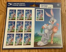 #3137 - 32¢ Bugs Bunny Mint Sealed Sheet With Perf 10th Stamp U.S. NH Stamps