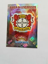 Mannschaftwappen Bayer Leverkusen    Match Attax Saison  2015/16
