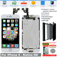 For iPhone 6 LCD Screen Replacement Digitizer Display Touch Button Camera White