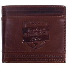 Vintage Retro Men's Leather Wallet Bifold Credit Card Holders Purse