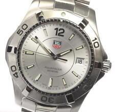 Good Condition! TAG HEUER Aquaracer WAF1112 Quartz Men's Watch_436187