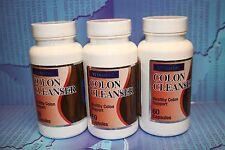 3 COLON CLEANSER ( Healthy Colon Support ) Limpiador Intestinal 1800, LINAZA