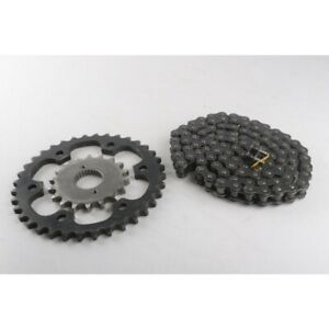Royal Enfield Genuine Chain & Sprocket Kit 4 Continental GT 535cc Part # 888278
