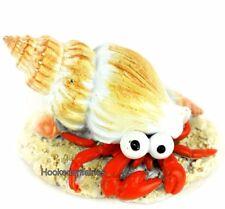 Snail in tan Conch Shell 2 inch MI 90856 Miniature Fairy Garden Dollhouse