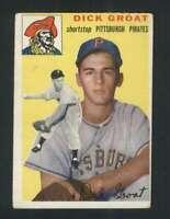 1954 Topps #43 Dick Groat VGEX Pirates 96810