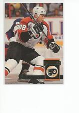 ERIC LINDROS 1993-94 Donruss Hockey card #242 Philadelphia Flyers NR MT