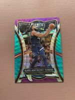 2019-20 Panini Select: Karl-Anthony Towns - Green, Pink, Silver Prizm