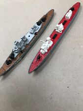 Matchbox Sea Kings C17 & 110 Destroyer Boat Toys  1978 Made in UK