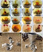 Wholesale 120pcs Organic Blooming Flower Green Tea Vacuum Individual Packing