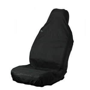 NEW TOWN & COUNTRY CAR SEAT COVER - FRONT SINGLE - BLACK - 3DFBLK BEST QUALITY